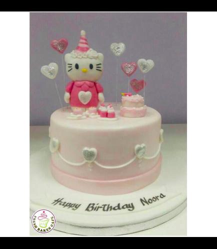 Hello Kitty Themed Cake 05