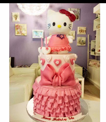 Hello Kitty Themed Cake 06