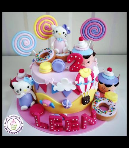 Hello Kitty Themed Cake 15