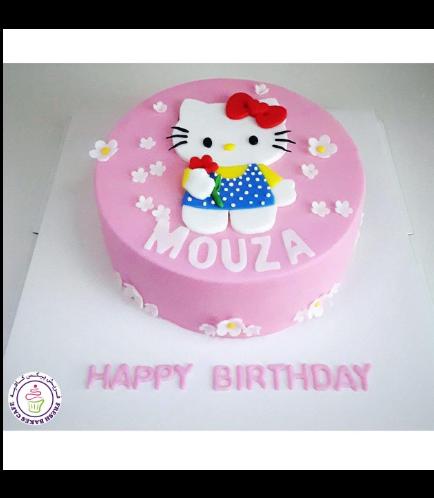 Cake - Picture - 2D Fondant Picture 02