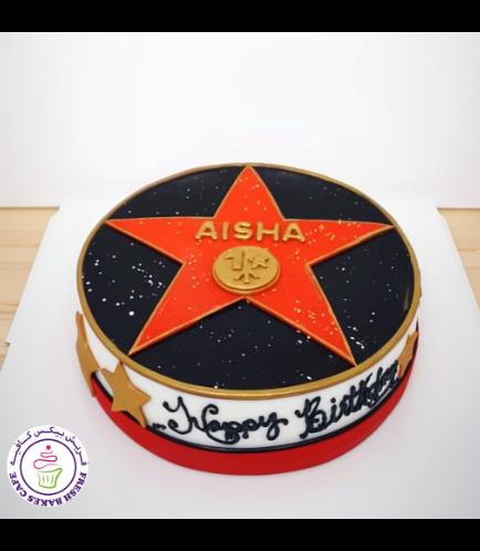 Hollywood Star Themed Cake