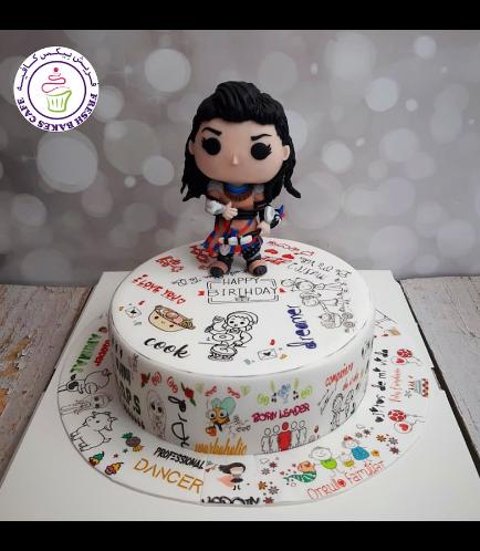 Horizon Zero Dawn Themed Cake - Aloy - Personalized