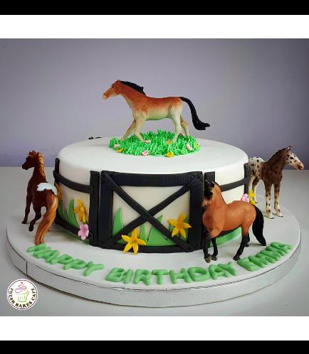 Horse Themed Cake 03
