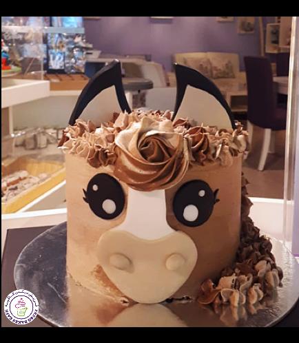 Horse Themed Cake - 2D Cake