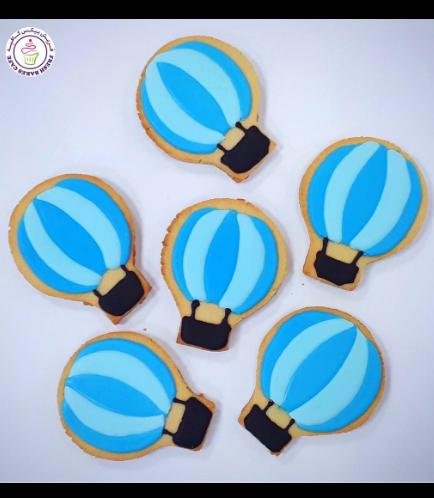 Hot Air Balloon Themed Cookies 01