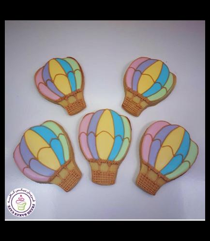 Hot Air Balloon Themed Cookies 02