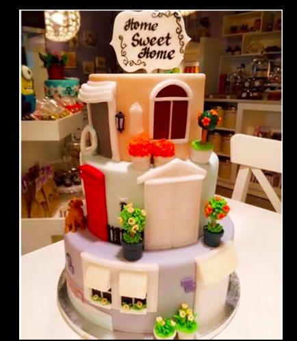 House Themed Cake 01a