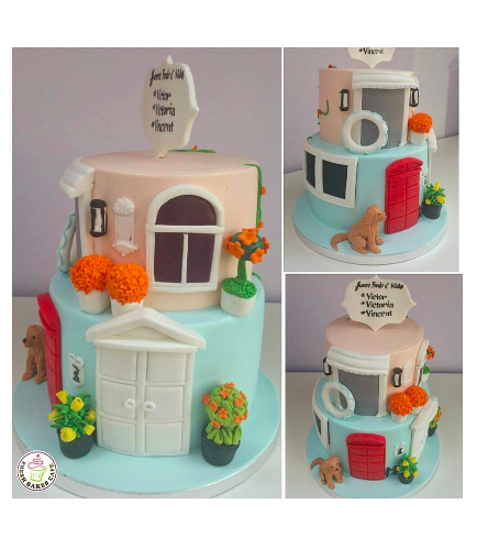 House Themed Cake 02