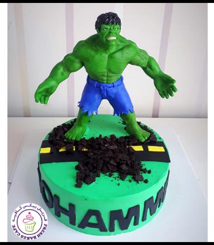 Hulk Themed Cake - 3D Character 02