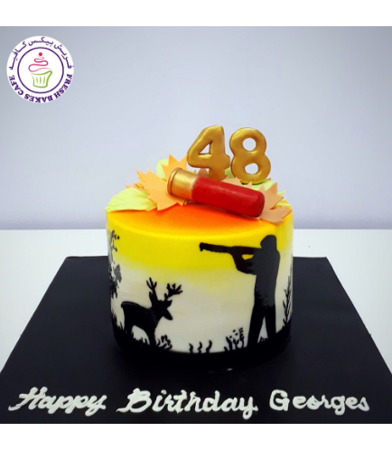 Hunting Themed Cake 02