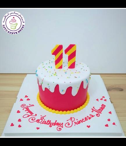 Cake - Fondant Drizzle