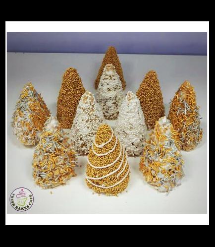 Christmas Themed Krispie Treats - Christmas Trees 01