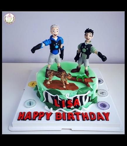 Wild Kratts Themed Cake