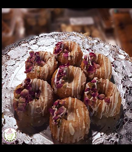 Desserts - Donuts - Rose Pistachio