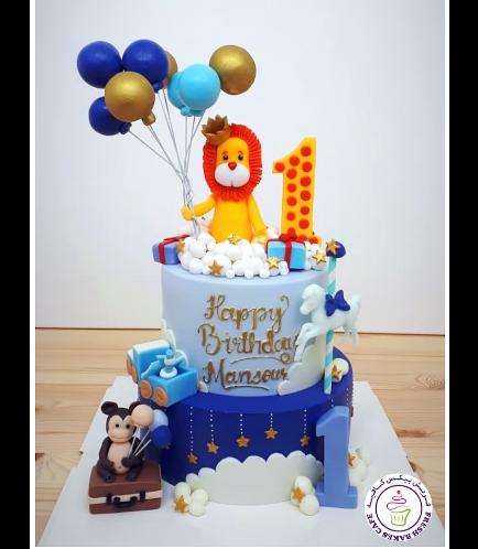Cake - Lion 3D Cake Topper