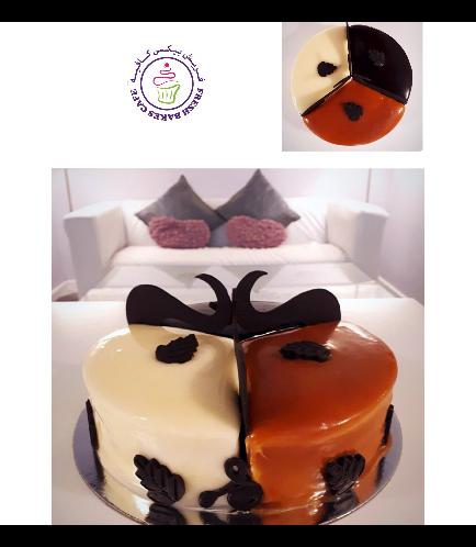 3-in-One Cake: Vanilla, Caramel, & Chocolate