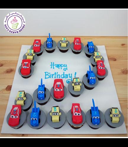Cupcakes - Disney Pixar Cars - #02 - 01