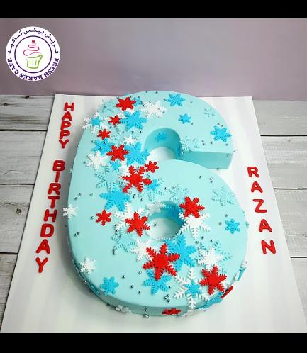 Cake - Number Cake - 3D Cake