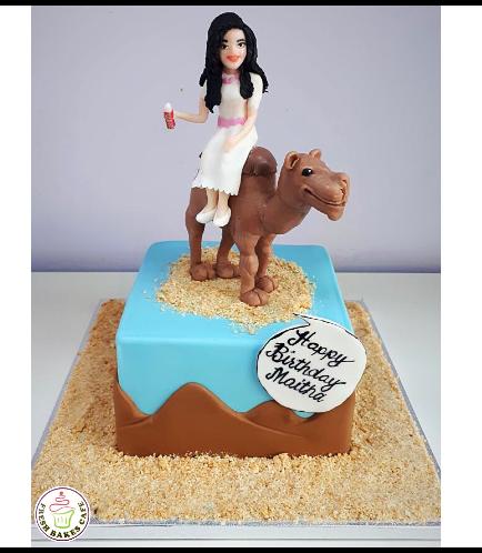 Desert Themed Cake 04