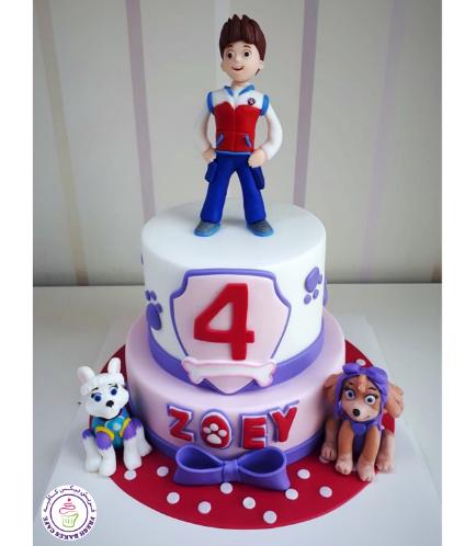 Cake - Ryder, Everest, & Sky - 3D Cake Toppers
