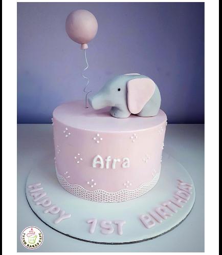 Elephant Themed Cake 01d