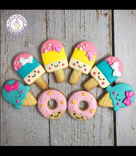 Ice Cream & Donut Themed Cookies