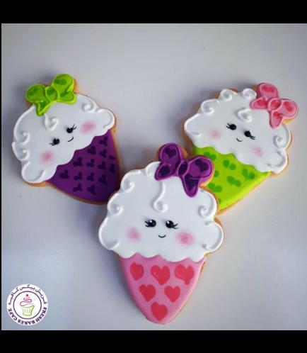 Ice Cream Themed Cookies 04