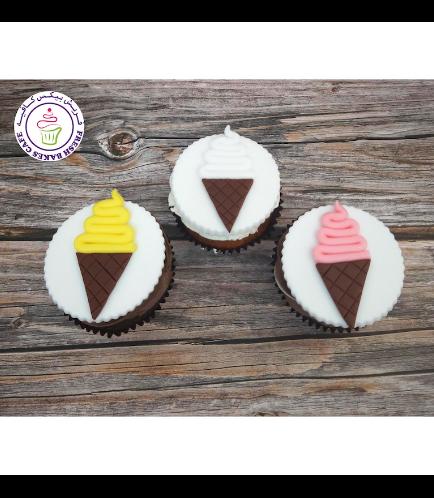 Ice Cream Themed Cupcakes 01