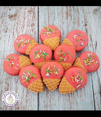 Ice Cream Themed Macarons 01