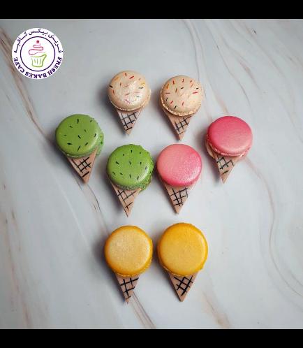 Ice Cream Themed Macarons 02