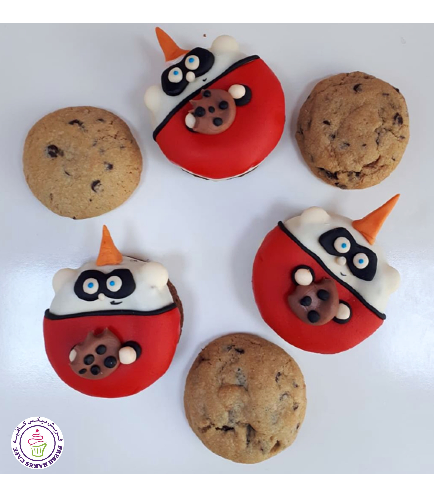 The Incredibles Themed Donuts 1