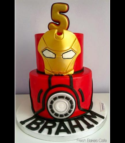 Iron Man Themed Cake