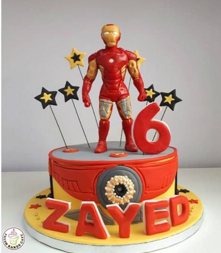 Iron Man Themed Cake 02