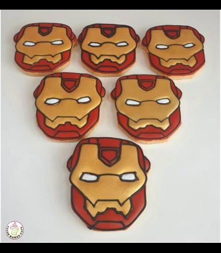 Iron Man Themed Cookies
