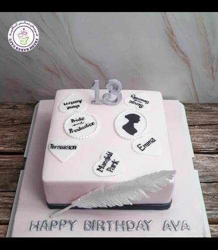 Jane Austin Themed Cake