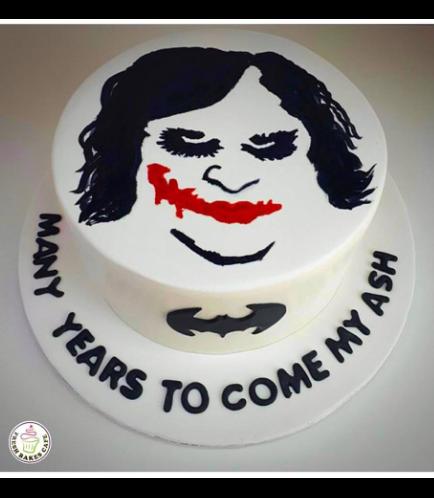 Joker Themed Cake