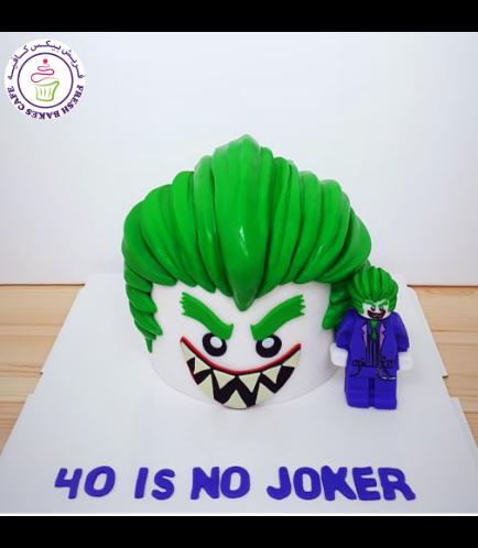 Joker Themed Cake - LEGO Joker
