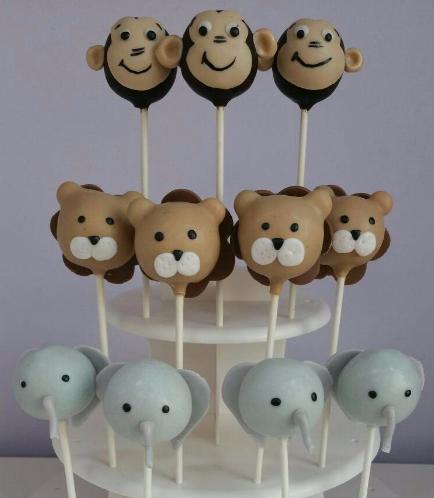 Jungle Animals Themed Cake Pops 04