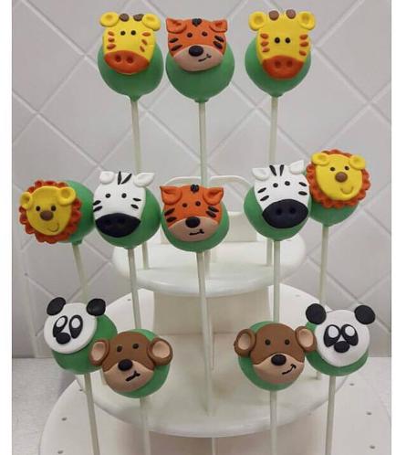 Jungle Animals Themed Cake Pops 05