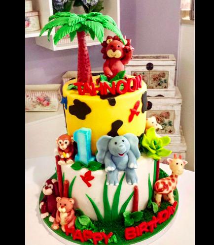 Cake - Animals - Jungle Animals 04