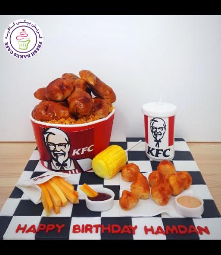 KFC Themed Cake 03