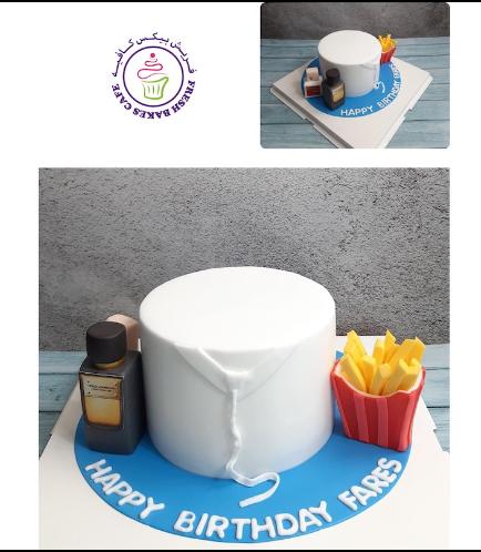 Kandora Themed Cake 03