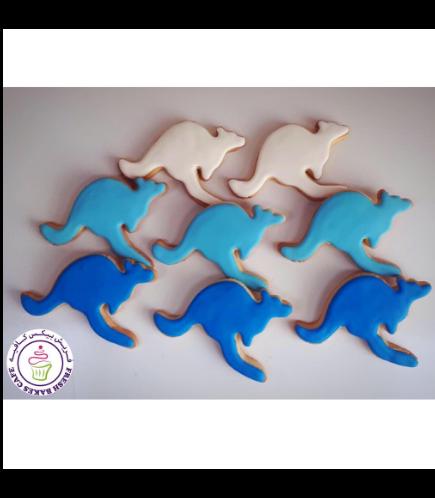 Kangaroo Themed Cookies