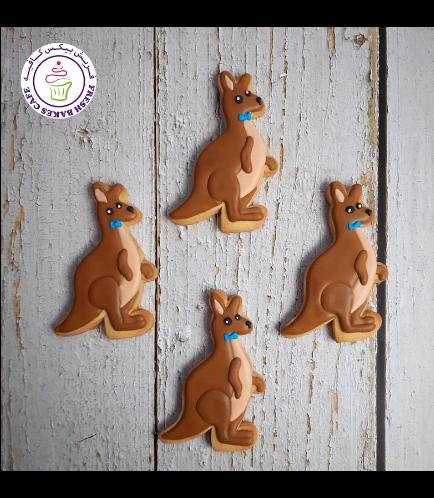 Kangaroo Themed Cookies 02