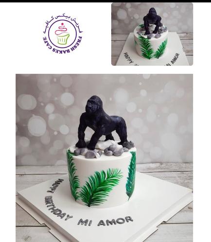 King Kong Themed Cake - 3D Cake Topper