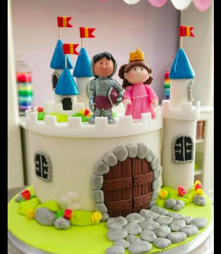 Cake - Princess & Knight