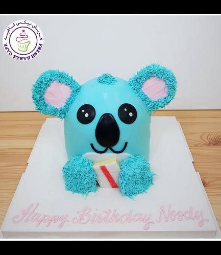 Koala Themed Cake - 2D Cake 02