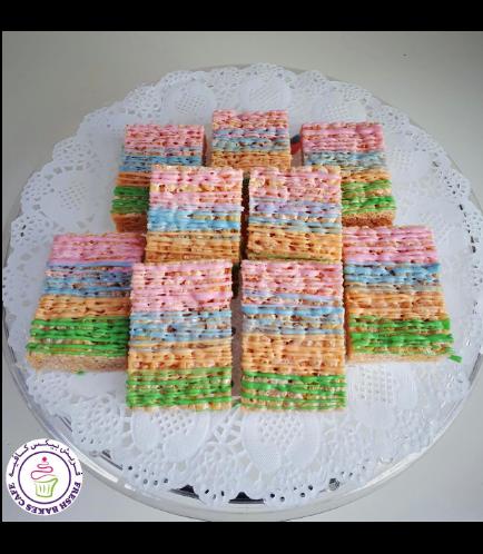 Krispie Treats with Pastel Colors 01a