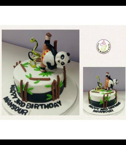 Kung Fu Panda Themed Cake 01