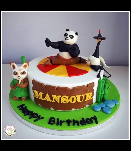Kung Fu Panda Themed Cake 02